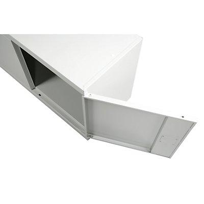 Abschließbarer Metallschrank | HxBxT 1950 x 950 x 400 mm