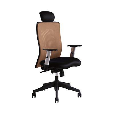 Bürodrehstuhl Calypso | Mit Kopfstütze