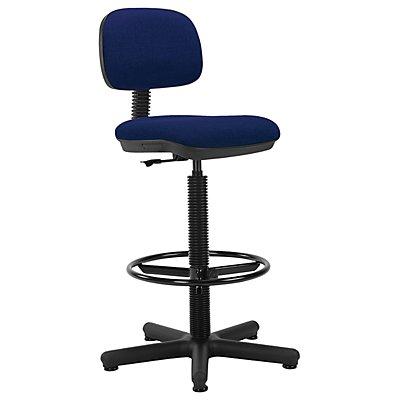 Bürodrehstuhl Senior | Mit höhenverstellbarem Fußring