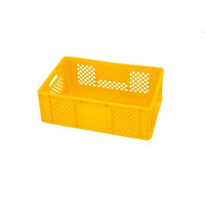 Euro-Stapelbehälter | HxBxT 200 x 397 x 595 mm | Durchbrochene Seiten