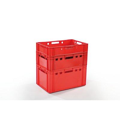 Euro-Behälter aus HDPE | HxBxT 12 x 40 x 60 cm