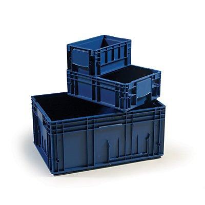 Verstärkter Industriebehälter aus Polypropylen | HxBxT 148 x 200 x 300 mm