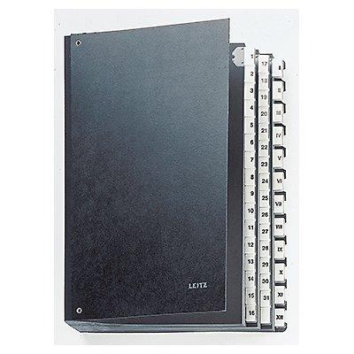 Leitz Pultordner 58440095 DIN A4 44Fächer Hartpappe schwarz