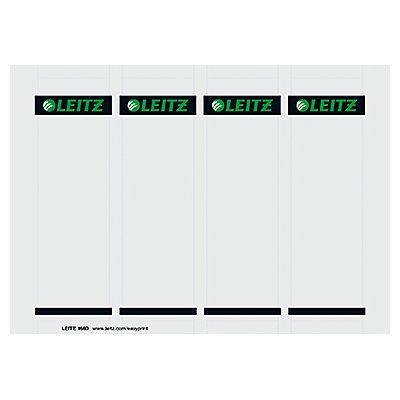 Leitz Einsteckrückenschild 16800085 kurz/breit Karton gr 100 St./Pack.