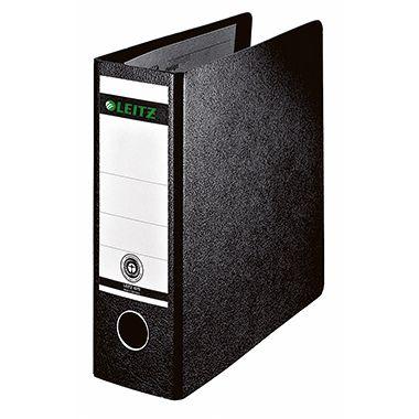 Leitz Ordner 10750000 DIN A5 80mm Pappe schwarz