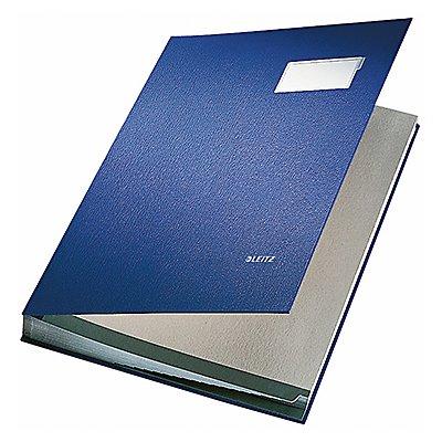 Leitz Unterschriftsmappe DIN A4 20Fächer Graupappe