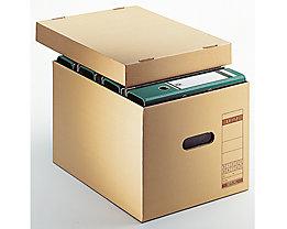 Leitz Archivbox 60810000 DIN A4 max. 7Ordner Pappe natronbraun