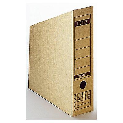Leitz Stehsammler 60830000 DIN A4 max. 77mm Pappe natronbraun