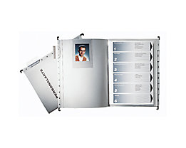 Leitz Personalmappe 300410085 DIN A4 250g Colorspankarton grau