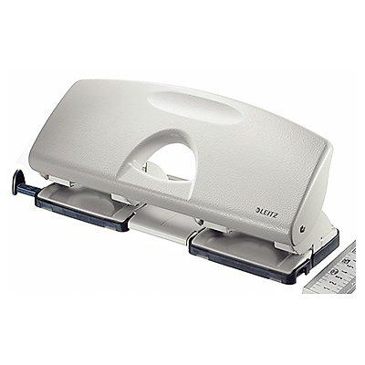 Leitz Doppellocher 50220085 max. 16Blatt Metall grau