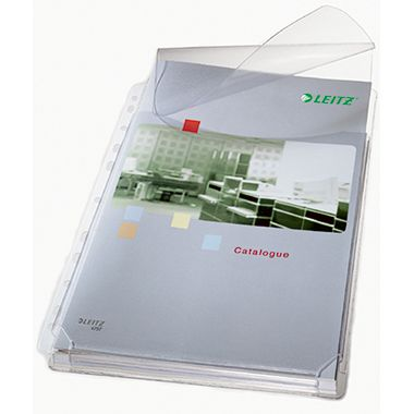Leitz Prospekthülle Maxi 47573003 DIN A4 0,17mm PVC tr 5 St./Pack.