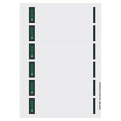 Leitz Ordneretikett 16860085 kurz/schmal Papier gr 600 St./Pack.