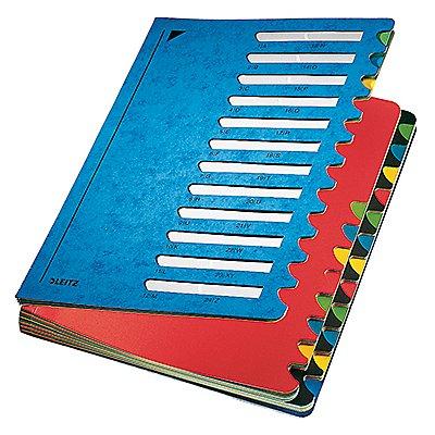 Leitz Ordnungsmappe Deskorganizer Color 24Fächer