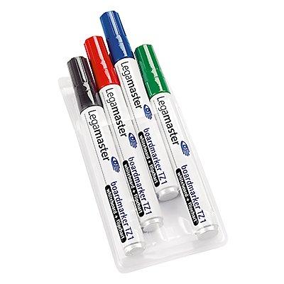 Legamaster Boardmarker TZ1 7-110094 1,5-3mm farbig sortiert 4 St./Pack.
