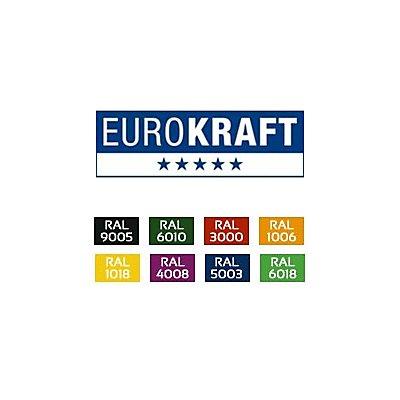 EUROKRAFT Treppensackkarre - aus Stahl, Tragfähigkeit 200 kg