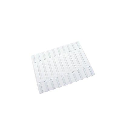 Heftstreifen 2x15cm selbstklebend weiß  St./Pack.