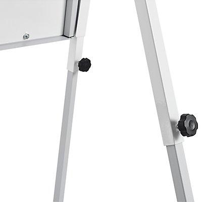 magnetoplan® Tableau de conférence YOUNG EDITION PLUS - dimensions utiles: 710 x 1000 mm, magnétique - 2 bras latéraux