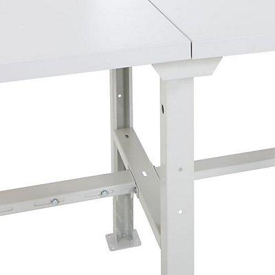 BiGDUG Werkbank - höhenverstellbar, Traglast 450 kg - BiGDUG Werkbank, Laminatplatte