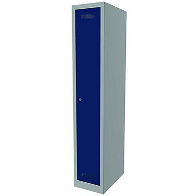 Bisley MonoBloc™ Garderobenschrank - 1 Abteil Breite 300 mm, 1 Fach