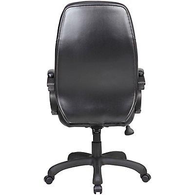 Bürodrehstuhl Monza - mit Lederbezug