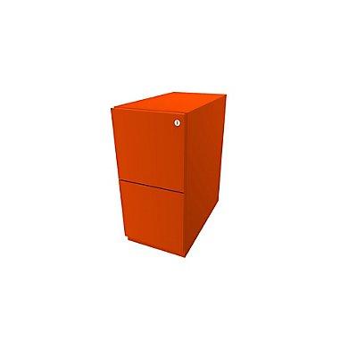 Bisley Rollcontainer Note™ - 2 HR-Schubladen, HxBxT 645x300x565 mm