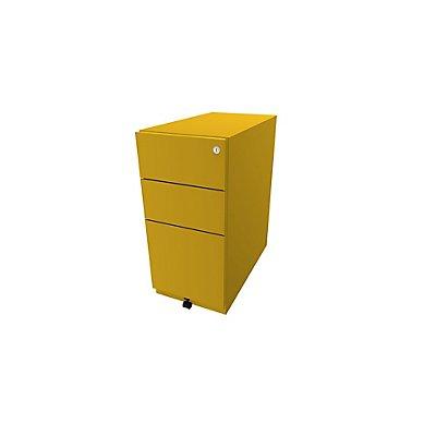 Bisley Rollcontainer Note™ - inkl. 5. Rolle, 2 Universalschubladen, 1 HR-Schublade, HxBxT 645x300x565 mm