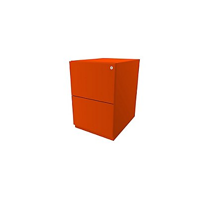 Bisley Rollcontainer Note™ - 2 HR-Schubladen, HxBxT 645x420x565 mm