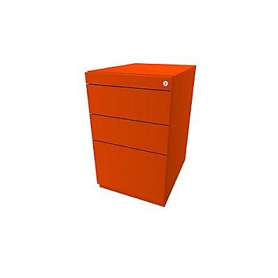 Bisley Standcontainer Note™ - 2 Universalschubladen, 1 HR-Schublade, Höhenverstellbar 698-731, BxT 420x565 mm