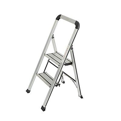 Leiter-Stehhilfe inklusive Werkzeugauflage f/ür jede Sprossenleiter