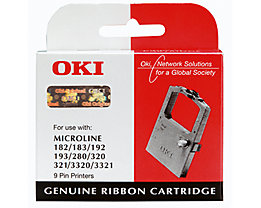 OKI Farbband 09002303 3Mio.Zeichen Nylon schwarz