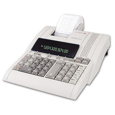 Olympia Tischrechner CPD 3212 S druckend 12stellig Netzbetrieb weiß