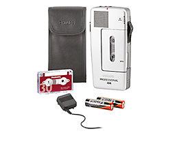 Philips Diktiergerät Pocket Memo 488 Professional LFH0488/00B silber