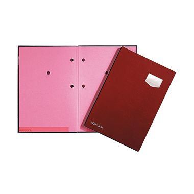 PAGNA Unterschriftsmappe de Luxe DIN A4 10Fächer Pappe