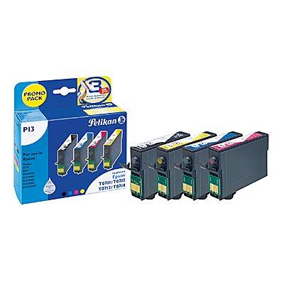 Pelikan Tintenpatrone 359698 P13 Set wie Epson T071 4 St./Pack.