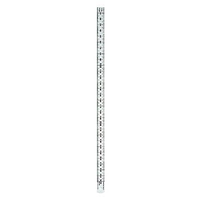 RUMOLD Lineal 323703 30cm Edelstahl silber