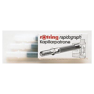 rotring Kapillarpatrone S0194640 für rapidograph schwarz 3 St./Pack.