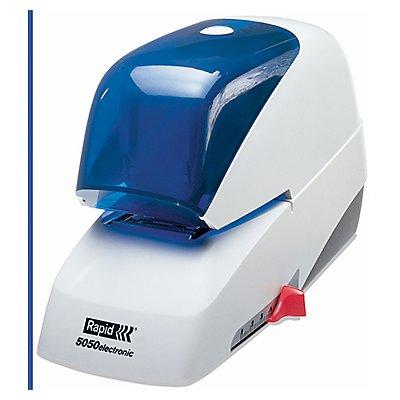 Rapid Elektroheftgerät 5050e 20993210 Kunststoff weiß/blau