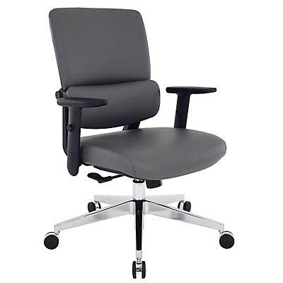 Bürostuhl Parity - mit Lederbezug