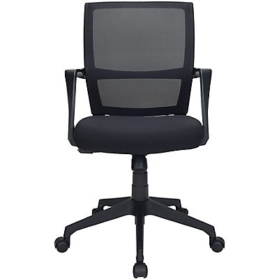 Schreibtischstuhl Orbit - mit Netz-Rückenlehne und Sitzpolster
