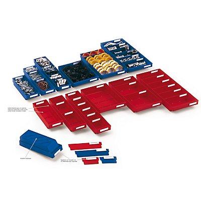 Regalkasten Mod 420, 400 x 240 x 65 mm, für 4 Trennplatten
