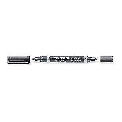 STAEDTLER Permanentmarker Lumocolor duo 0,6mm/1,5mm