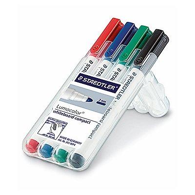 STAEDTLER Whiteboardmarker Lumocolor 341 WP4 4 St./Pack