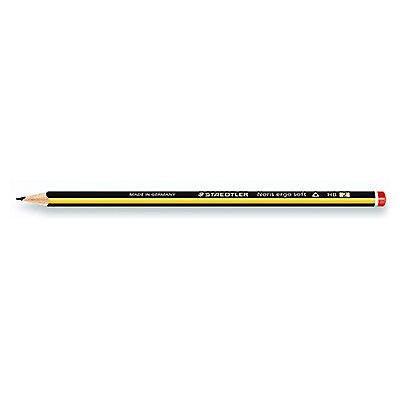 STAEDTLER Bleistift Noris ergo soft 152 HB gelb/schwarz