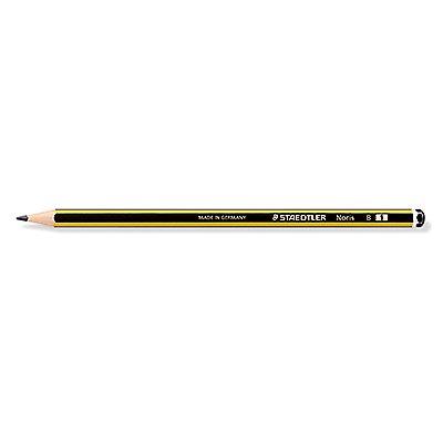 STAEDTLER Bleistift Noris 120-0 2B sechskantform gelb/schwarz