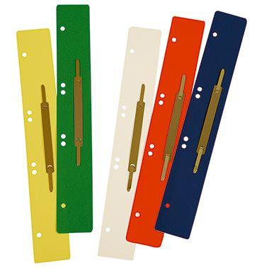 Soennecken Heftstreifen 3162 lang Metalldeckl. farbig 125 St./Pack.