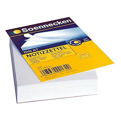 Soennecken Zettelboxeinlage  DIN  blanko 200 Bl./Pack.