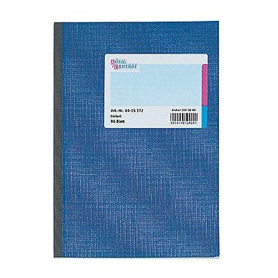 König & Ebhardt Kladde DIN liniert 96Blatt blau