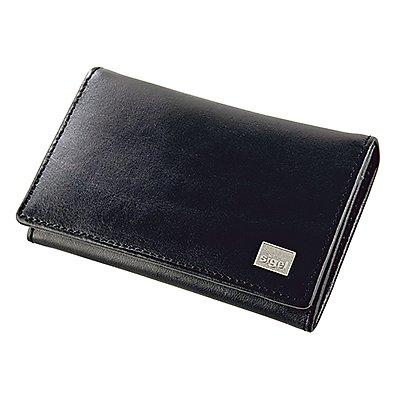 Sigel Visitenkartenmappe Torino VZ200 max. 30Karten Leder schwarz