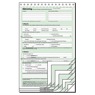 Sigel Mietvertrag MV480 DIN A4 selbstdurchschreibend 2x3Blatt