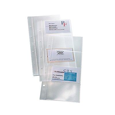 Sigel Visitenkartenprospekthülle VZ350 max. 80Karten tr 10 St./Pack.